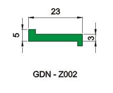 Z型垫条 6F-D-010