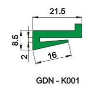 K型垫条 6F-D-007